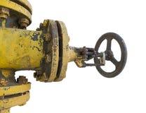 заржаветый клапан Стоковая Фотография