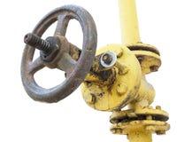 заржаветый клапан Стоковая Фотография RF