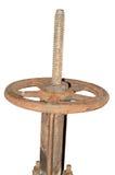 заржаветый клапан Стоковое Фото