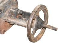 Заржаветый клапан Стоковое Изображение