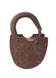 Заржаветый открытый padlock Стоковое Изображение
