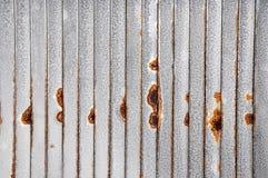 Заржаветый покрывать металла: Вертикальный стоковое фото rf