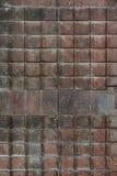 Заржаветый складывая строб металла стоковые фотографии rf