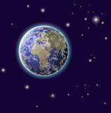 заройте планету Стоковое Изображение