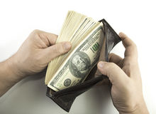 зарплата Стоковое Изображение RF