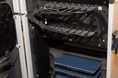 Зарядная станция таблетки с портами USB Стоковые Фото
