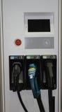 Заряжатель электрического автомобиля Стоковые Фото