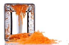 заскрежетанная морковь Стоковое Изображение RF