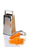заскрежетанная морковь Стоковое фото RF
