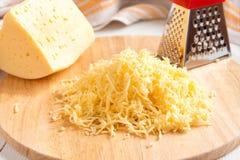 заскрежетанный сыр Стоковое Изображение RF