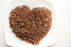 Заскрежетанный шоколад Стоковое Изображение RF