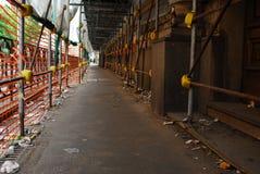 Засорянная улица Стоковое Фото