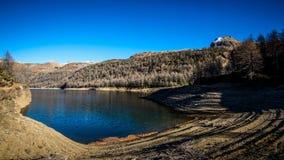 Засохлость на долине Ossola озера горы стоковое фото rf