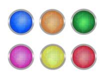 застегивает глобусы Стоковое фото RF