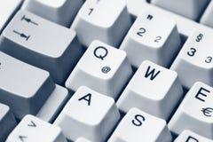 застегивает клавиатуру Стоковое Изображение RF