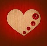 застегивает сердце Стоковое Фото