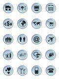 застегивает сеть символа Стоковые Изображения RF