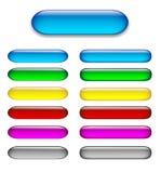 застегивает цветастую лоснистую сеть комплекта иллюстрация вектора