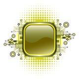 застегните вектор grunge высокотехнологичный Стоковое фото RF