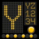 застегните желтый цвет пем Стоковая Фотография RF