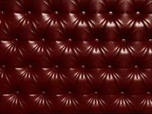 застегнутый кожаный красный цвет Стоковые Изображения RF