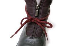 застежка -молния фермуара ботинка Стоковое Изображение RF