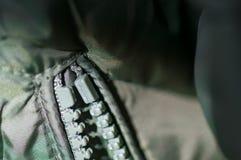 застежка -молния Стоковая Фотография