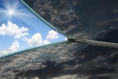 застежка -молния Стоковые Фотографии RF