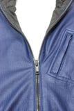 Застежка-молния на куртке Стоковое Фото