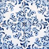 застекленные португальские плитки традиционные Стоковое Изображение RF