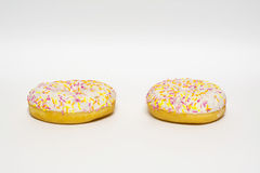 Застекленные Donuts изолировано Стоковое Изображение RF