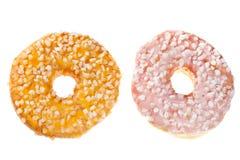 2 застекленных Donuts Стоковые Фотографии RF