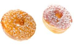 2 застекленных Donuts Стоковое фото RF