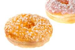 2 застекленных Donuts Стоковая Фотография RF