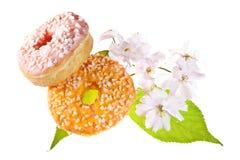 2 застекленных Donuts Стоковое Фото