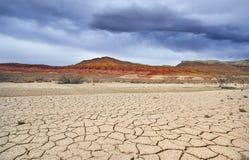 Засуха в пустыне Стоковые Изображения