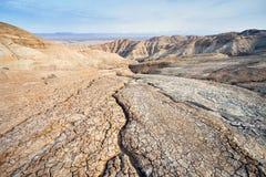 Засуха в пустыне стоковые фото