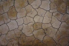 Засушливая земля Стоковая Фотография