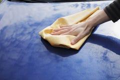 засыхание автомобиля Стоковое Изображение