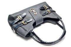 затавренное кожаное портмоне Стоковое Изображение RF