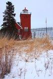 затаивает маяк 2 стоковое изображение rf