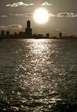 затаите заход солнца Стоковые Фото