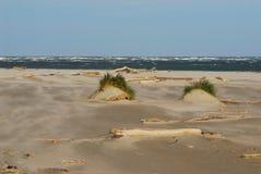 Затаите пляж Caleri около конематки Ровига Италии Rosolina Стоковые Изображения