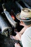 Затвердетый стальной antique Стоковая Фотография RF