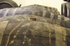 Затвор бочонка вина Стоковая Фотография RF