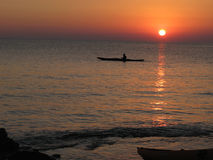 Затвор восхода солнца Стоковые Фотографии RF