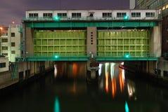 затвор у шлюза Стоковые Фотографии RF