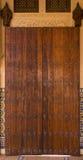 Затейливый тип Moroccan двери Стоковые Изображения RF