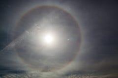Затемненное Солнце Стоковая Фотография