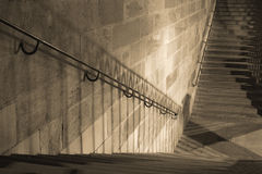 затеняет лестницы Стоковые Фотографии RF